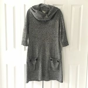 womens London Times grey sweater dress